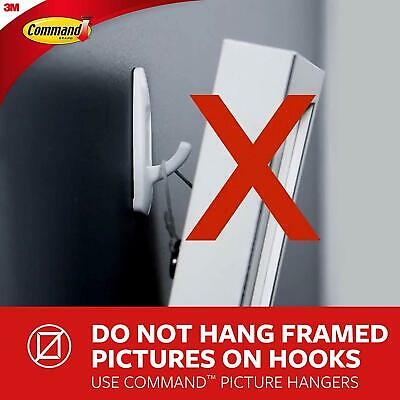 Command Outdoor Forever Classic Large Metal Hook with Foam Strips FC13-BN-AWES