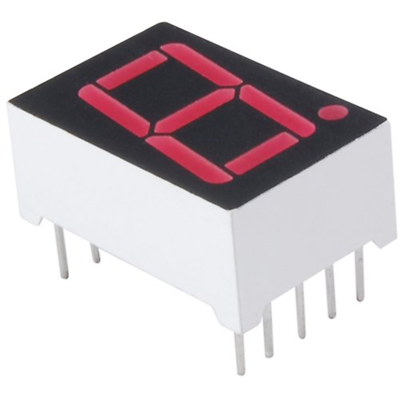 NTE Electronics NTE3078 LED-display Red 0.560 Inch Seven Segment Common Anode