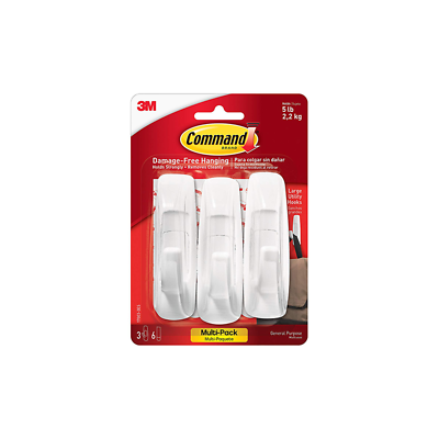 Command™ Large Utility Hook Value Pack 17003-3ES