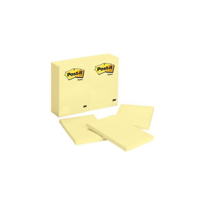 Post-it® Notes 659 4 in x 6 in (10.16 cm x 15.24 cm) Canary Yellow