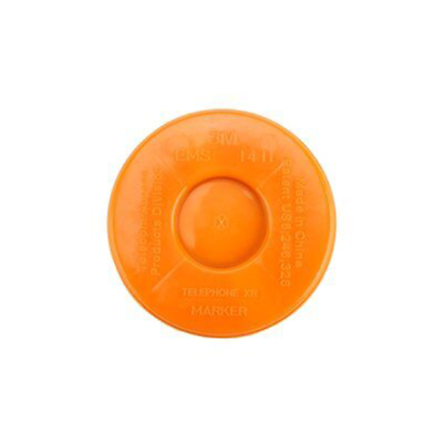 3M™ EMS Extended Range 5` Disk Marker - Telephone (Do Not Direct Bury) 1411-XR