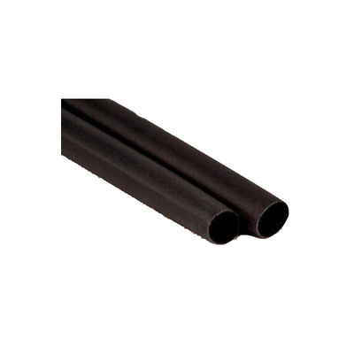 "3M Thin-Wall Heat Shrink Tubing EPS-300, Adhesive-Lined, 3/8"" Black 1-1/2-in"