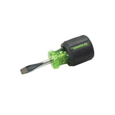 Greenlee 0153-28C Screwdriver, Flat 1/4