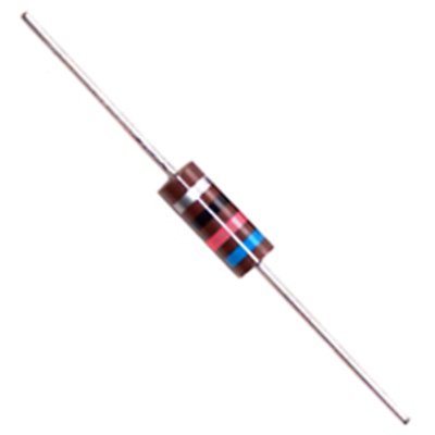 1WCC222 RESISTOR CARBON COMPOSITION 1 WATT 2.2K OHM 10% AXIAL