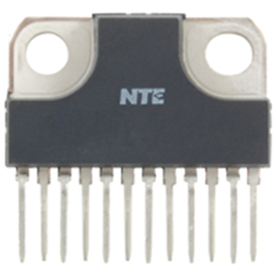NTE Electronics NTE1899 INTEGRATED CIRCUIT DUAL AUDIO POWER AMP 5.8W(22WB L) 12-