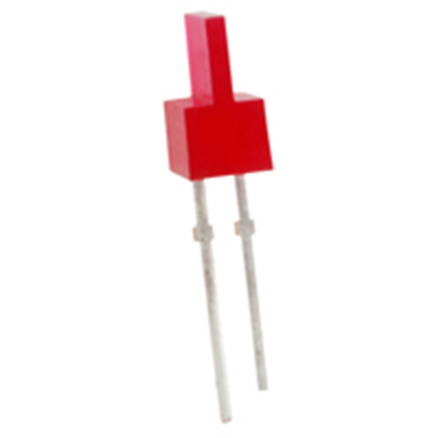 NTE Electronics NTE3163 LED Red 1.2mm X 5.9mm Rectangular