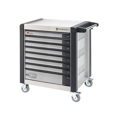 Stahwille 81200113 98VA/8 Tool Trolley TTS, 8 Drawers White, RAL 9010