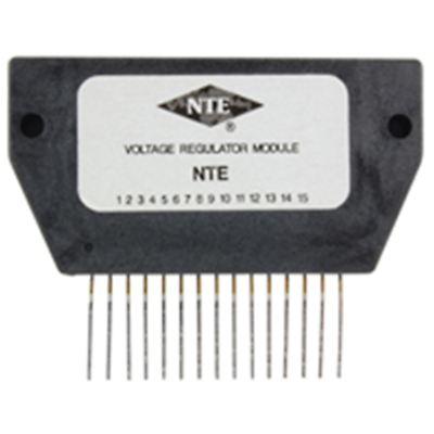 NTE Electronics NTE1733 HYBRID MODULE 4 OUTPUT VOLTAGE REGULATOR FOR VCR 5/9/12/