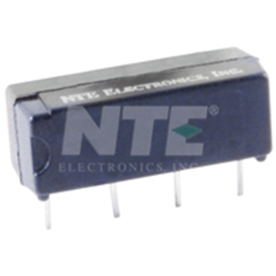 NTE Electronics R42-1D.5-12 RELAY-REED SPST-NO 0.5AMP 12VDC PC MOUNTABLE