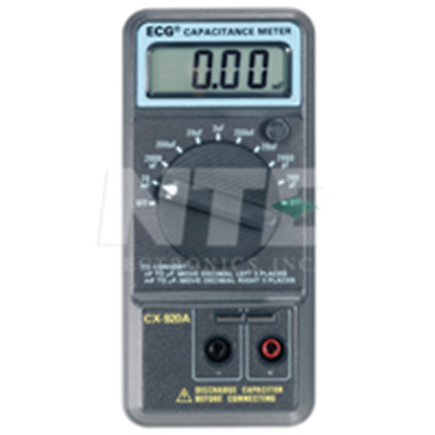 NTE Electronics CX-920A DIGITAL CAPACITANCE METER MEASURES 1PF-20k UFD