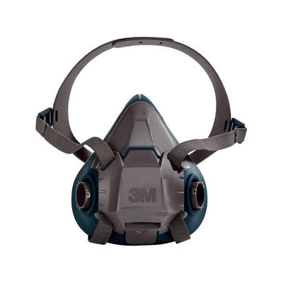 3M™ Rugged Comfort Half Facepiece Reusable Respirator 6503/49491, Large