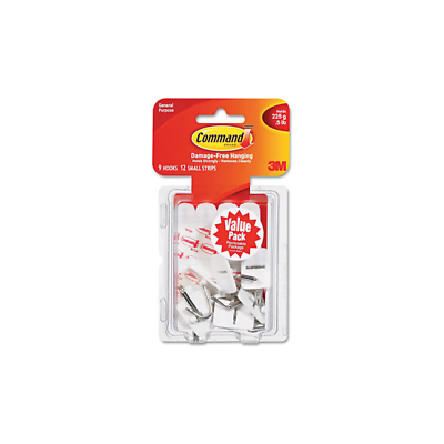 Command™ Small Wire Hooks Value Pack 17067-9ES