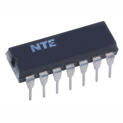NTE Electronics NTE2025 INTEGRATED CIRCUIT QUAD HIGH VOLTAGE DISPLAY DRIVER