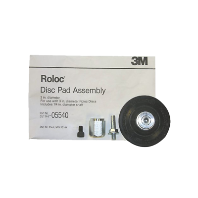 3M™ Roloc™ Disc Pad Assembly, 05540, 3 in