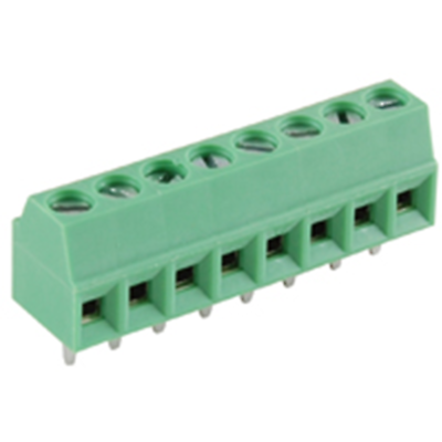 NTE Electronics 25-E100-08 Terminal Block Eurostyle 8 Pole 3.50mm Pitch 300V 10A