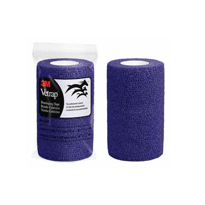3M Vetrap Bandaging Tape Bulk Pack, 1410PR Bulk Purple