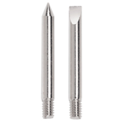 NTE Electronics JT-101 1 CONICAL AND 1 CHISEL REPLACEMENT TIP FOR J-025, 2/PKG
