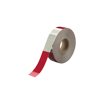 3M™ Diamond Grade™ Conspicuity Markings 983-326 Red/White, 2 in x 50 yd