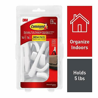 Command Large Utility Hook Mega Pack 17003-MPES