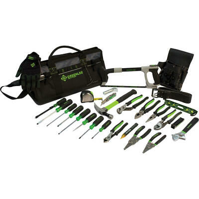 Greenlee 0159-28MULTI Heavy Duty Multi-Pocket Tool Bag Kit