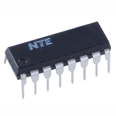 NTE Electronics NTE1703 INTEGRATED CIRCUIT VCR COLOR APC CIRCUIT FOR VCR 16-LEAD