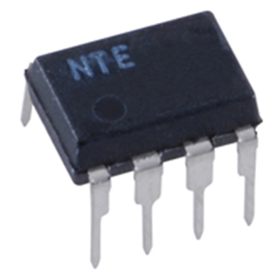 NTE Electronics NTE1042 INTEGRATED CIRCUIT 3-STAGE FM/IF AMP 8-LEAD DIP VCC=20V