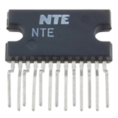 NTE Electronics NTE1802 INTEGRATED CIRCUIT 24W BTL(12W/CHANNEL) STEREO POWER AMP