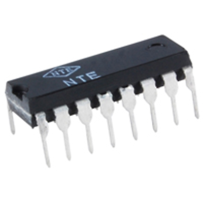 NTE Electronics NTE3223-4 Optocoupler Quad NPN Transistor Output 16 Lead DIP