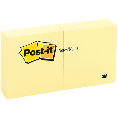 Post-it Notes 5400 3 in x3 in (7.62 cm x 7.62 cm) Canary Yellow