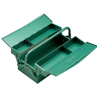 Stahlwille 81060000 83/010 Tool Box, 3 Trays