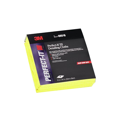 3M Perfect-It Detailing Cloths 06017, YELLOW