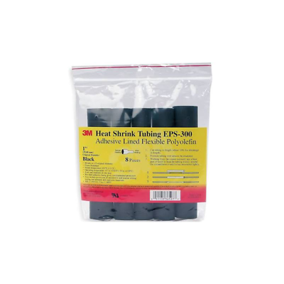 3M™ 7000133685 Heat Shrink Thin-Wall Flexible Polyolefin Adhesive-Lined Tubing