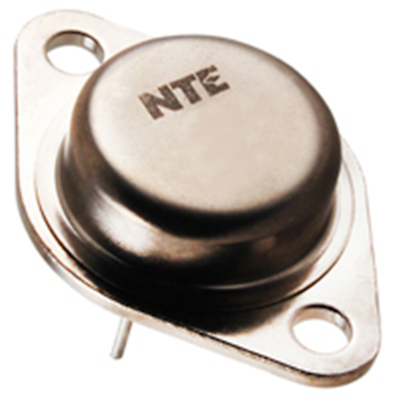 NTE Electronics NTE165 TRANSISTOR NPN SILICON 1500V IC=5A TO-3 COLOR TV HORIZONT