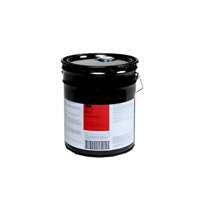 3M™ Plastic Adhesive 2262, Clear, 5 Gallon Drum (Pail)