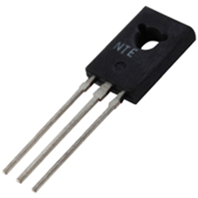 NTE Electronics NTE184 TRANSISTOR NPN SILICON 80V 4AMP TO-126 AUDIO POWER AMP AN