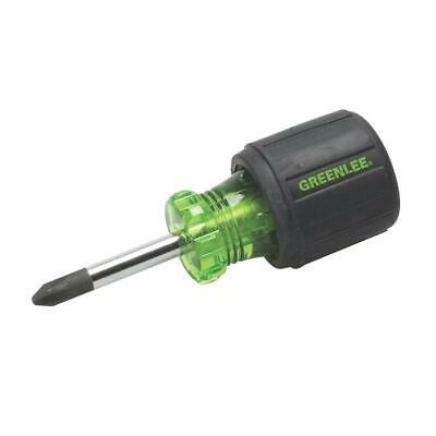 Greenlee 0153-32C Stubby Screwdriver, Phillips #2