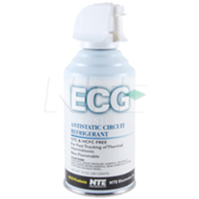 NTE Electronics RX100-10 FREEZE SPRAY CIRCUIT REFRIGERANT 10-OZ AEROSOL CAN -60F