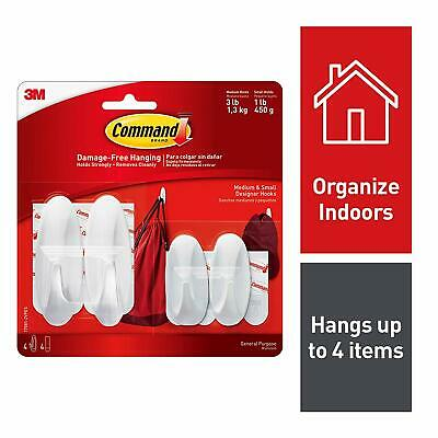 Command Small/Medium Designer Hook Value Pack 17081-2VPES