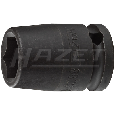 "Hazet 880S-12 (6-Point) 10mm (3/8"") 12-12 Traction Impact Socket"