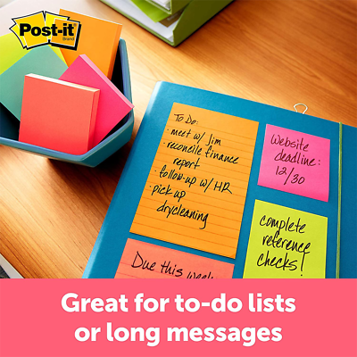 Post-it Notes 660-3AN, 4 in x 6 in (101 mm x 152 mm) Cape Town