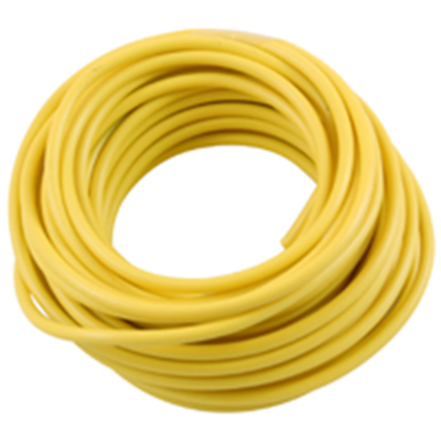 NTE Electronics  WA06-04-10 HOOK UP WIRE AUTOMOTIVE 6 GAUGE YELLOW STRANDED 10'
