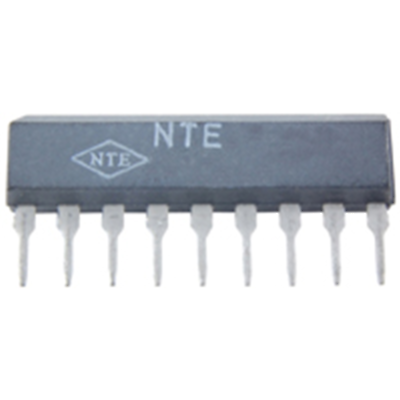 NTE Electronics NTE1826 INTEGRATED CIRCUIT 3-INPUT SWITCH W/MUTE FOR VCR 9-LEAD