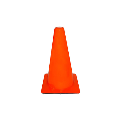 3M™ 18 in PVC Non Reflective Traffic Safety Cone, 90128H1-C, Orange