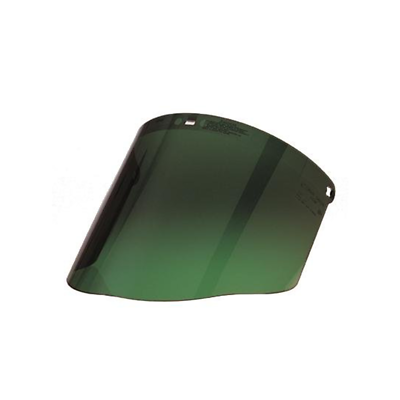 3M™ Polycarbonate Faceshield WP96C, Dark Green, 82702-00000, Molded