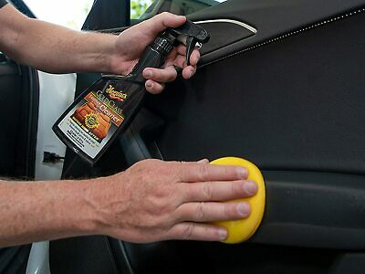 Meguiar's Gold Class Leather & Vinyl Cleaner, G18516, 16 oz., Spray