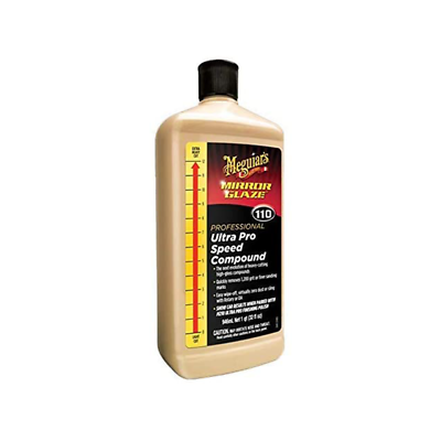Meguiar's M110 Mirror Glaze Ultra Pro Speed Compound - M11032, 32 oz