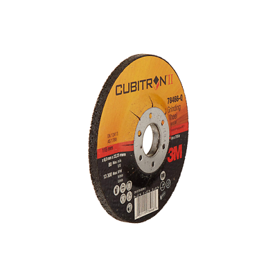 3M™ Cubitron™ II Depressed Center Grinding Wheel, 87209, T27, 4-1/2 in x 1/4 in