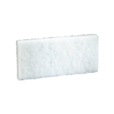 3M™ Doodlebug™ White Cleaning Pad 8440, 4.6 in x 10 in