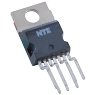 NTE Electronics NTE7170 IC - VERTICAL DEFLECTION BOOSTER VS = 42V MAX 7-LEAD SIP