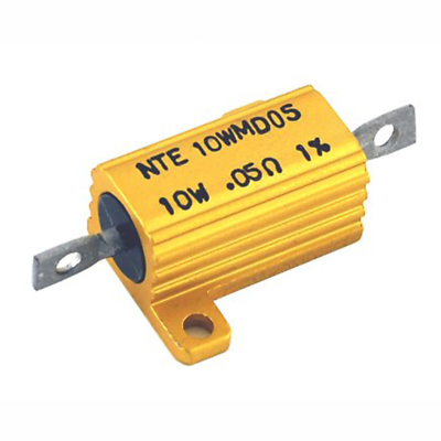 NTE Electronics 5WM133 RESISTOR 5 WATT ALUMINUM HOUSED POWER WIREWOUND 330 OHM